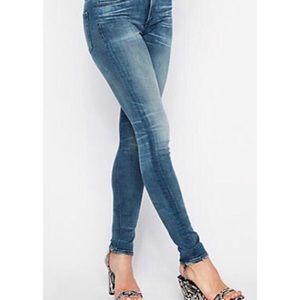 Express ReRock Skinny Jeans Size 4